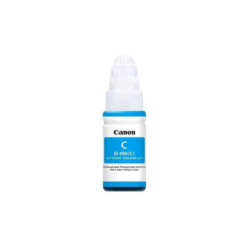 Canon GI-490 Cyan Μελάνι InkJet γνήσιο